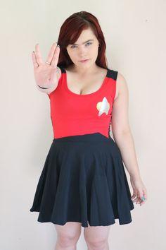 Star Trek Skater Dress by akuma2636 on Etsy