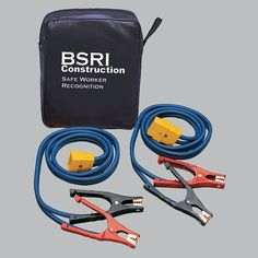 """A smart way to jumpstart your business and be the hero! Great branding opportunity! They will think favorably of you every time this item is used! Deluxe EZ-Jump """"Smart"""" Jumper Cable System"""