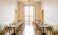 Versailles' recently revamped Pavillon Dufour sets the stage for chef Alain Ducasse's latest performance, Ore, an elegant contemporary French café that pays tribute to the glittering royal splendour that surrounds it. Visually, this is thanks to the Pa...