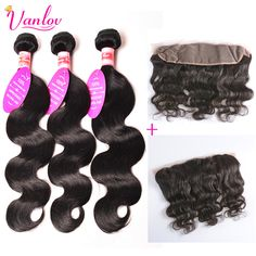 Malaysian Virgin Hair Malaysian Body Wave 3 Bundles With Frontal 7a Grade Body Wave With Closure Lace Frontals With Baby Hair 1b
