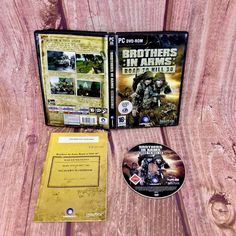 Brothers in Arms Road to Hill 30 for PC Cd-rom Boxed Shooter 2005 for sale online Brothers In Arms, Pc Games, World War, Ebay