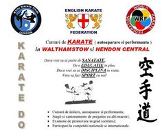 Antrenamentele de Karate cu Elite Karate Club London