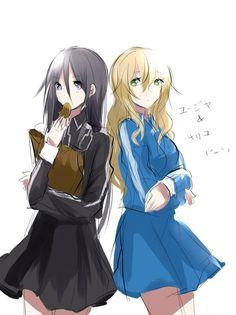Anime Girl Cute, Anime Art Girl, Online Anime, Online Art, Eugeo Sword Art Online, Kirito Sword, Art Station, Girls Characters, Gender Bender