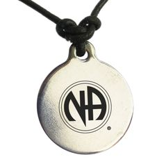 Officially Licensed Narcotics Anonymous Symbol on leather