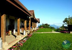 Hotel Villa Blanca Cloud, close to Arenal in Costa Rica. Located in the mountains between San José and Arenal!