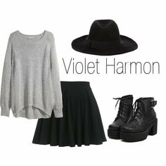With short black lace up boots, not these Grunge Fashion, Emo Fashion, Fashion Wear, Fashion Outfits, Womens Fashion, Estilo Dark, Moda Emo, Witch Fashion, Mein Style
