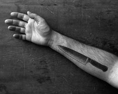 chef+knife+tattoo | When it comes to collecting them, I'm a utilitarian a heart, so I ...