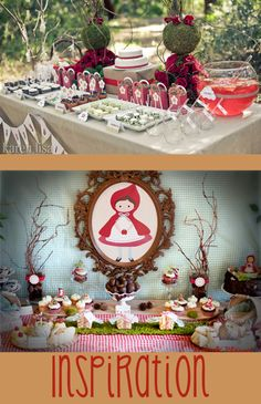 Little Red Riding Hood Baby Shower | Chaos & Love