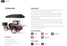 Most popular mobile machine for sellin coffee in Europe #gastrobike #icecreambike #gelatobike #eisfahrrad #veloglace #coffeebike #juicebike #jggastro #coffee #bike #streetfood #icecream #grillbike #hotdogbike More info on www.gastro-bike.com