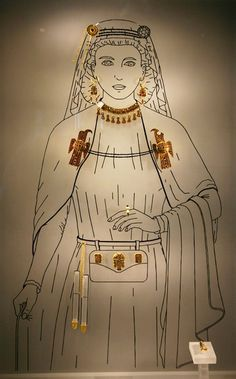 the funerary inventory of an Ostrogothic noble lady of the 5th-6th centuries, found in 1892-1893. during the excavation of a grave in the village of Lagucci, the commune of Domagnano, in San Marino (Lagucci, Domagnano, San Marino). According to researchers, it belongs to the era of Theodoric reign (493-526) or one to two decades earlier, i.e. to the era when Italy was Arian.