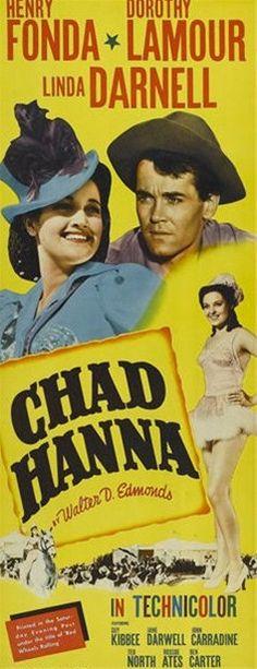 Chad Hanna DVD Henry Fonda Dorothy Lamour (1940)  http://www.dvdsentertainmentonline.com/product/1940-chad-hanna-dvd-henry-fonda-dorothy-lamour