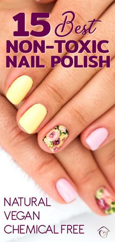 Here are the best non-toxic nail polishes that are vegan non-toxic and free from very harmful chemicals. Some are easy to remove and others are longer lasting. Care Skin Condition and Treatment Oil Makeup Clean Beauty, Diy Beauty, Beauty Hacks, Nail Growth Polish, Gel Polish, Nail Polishes, Manicure, Organic Nails, Spa Day At Home