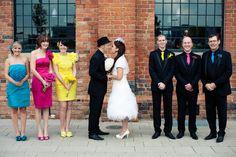 A CMYK Themed Wedding: Rebekah & David