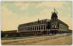 Shibe Park home of the Phillies.