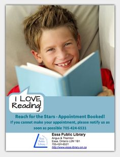 Essa Library's quarter flyer- love it!