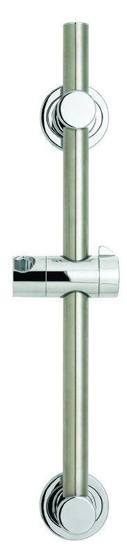 Speakman VS-153-ADA 24 Inch Slide Bar Grab Bar Combination Polished Chrome Shower Accessories Slide Bars 24 Inch