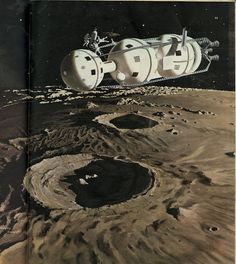 """Dreams of Space - Books and Ephemera: Collier's March 1952 """"Man Will Conquer Space Soon"""" Satellite Orbits, Vintage Space, Science Fiction Art, Science Space, Interstellar, Space Travel, Space Exploration, Space Crafts, Retro Futurism"""