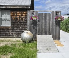 """""""Fire Island has given me a fascination for doors that lead to nowhere.""""  the photographer"""