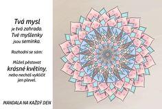Mandala Mysl a myšlenky Crochet Mandala, Outdoor Blanket, Tapestry, Hanging Tapestry, Tapestries, Needlepoint, Wallpapers, Rug Hooking