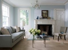 Charming Small Living Room with Gray Sofa  Best Ideas in Decorating Small Living Room Interior
