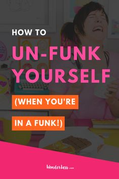 Have you ever been (or are you currently) in a complete and utter FUNK when it comes to your online biz? If you need a virtual kick in the pants to help you get out of it, then give this short + actionable episode a listen STAT! I have 3 things that you can use to banish that funk before it totally spirals out of control so that you can get back to your  butt-kicking and confident self! #mindsettips #entrepretneurtips #entrepreneurialmindset