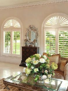 plantation shutters.  these don't seem to block the view as much as others.  do they come in different slat sizes or something?