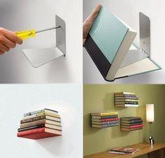 Prateleira biblioteca  http://www.umbra.com/ustore/product/330638-560.store