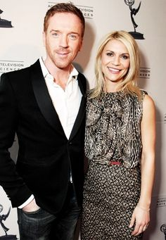 Homeland -Damian Lewis as Nicholas Brody with Claire Danes who stars as Carrie Mathison