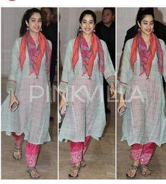Kurti Neck Designs, Kurta Designs Women, Casual Indian Fashion, Boho Fashion, Indian Attire, Indian Wear, Indian Dresses, Indian Outfits, Chic Outfits