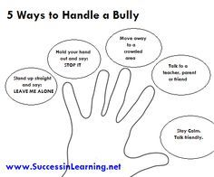 Anti-Bullying Poster Ideas   Stop Bullying Posters For Kids