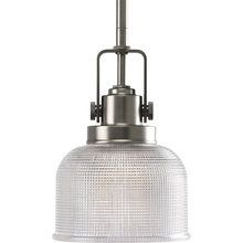 View the Progress Lighting P5173 Transitional Single Light Down Lighting Mini Pendant with Prismatic Glass from the Archie Collection at LightingDirect.com.