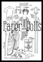 Paper Dolls of AncientHistory | Practical Pages