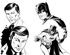 Batman 66, Adam West