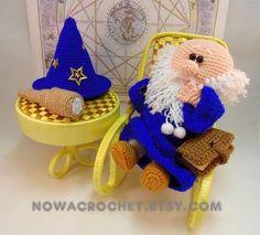 Astrologer Baltus - amigurumi PDF crochet pattern