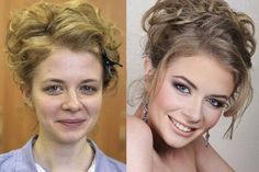 Russian artist Vadim Andreev has mastered the art of make-up. Upon first glance you might think that these images have been touched up with Photoshop, but in actual fact all the work you see here has been done with make-up. Amazing Makeup Transformation, Amazing Transformations, Beauty Make-up, Beauty Secrets, Beauty Hacks, Hair Beauty, Bella Beauty, Eye Makeup Blue, Beauty Makeup