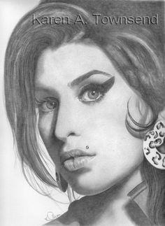 Amy Winehouse by Karentownsend.deviantart.com