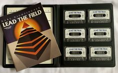 Earl Nightingale LEAD THE FIELD Set 6 Cassette Workbook PERSONAL SUCCESS Earl Nightingale, Fields, Sewing Patterns, Crafts For Kids, Success, Stamp, Music, Books, Ebay