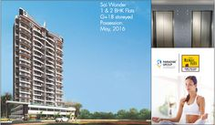 Book your dream home with Sai Wonder It has 1 & 2 BHK flats. Possession Date: May, 2016 To know more about Sai Wonder log on to : www.paradisegroup.co.in