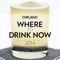 Chicago's 20 Best New Bars - I 'love' Chicago - I had great walks while I worked designing the showrooms there