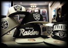 I Want a Raider SnapBack Hat SOOO Bad!!