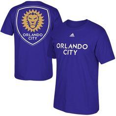 Men's Orlando City SC adidas Purple Primary One T-Shirt Canada Soccer, Orlando City, Major League Soccer, Eat Sleep, Toe, Adidas, Purple, My Style, Mens Tops