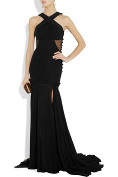 Every girl needs a party dress! Prabal Gurung ~ Tulle and silk-crepe gown