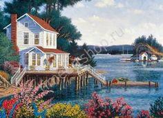 дача у моря в живописи: 6 тыс изображений найдено в Яндекс.Картинках