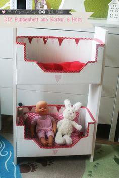 Puppenbett einfach selberbauen (dorfmädchenglück♥: Februar 2013)