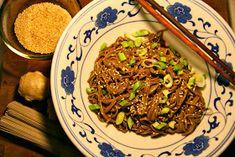 Kastrulek: Uvařila jsem pro Krause: Nudle soba na studeno Beef, Food, Meat, Essen, Meals, Yemek, Eten, Steak