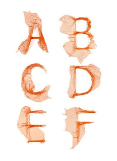 Typography Plastic on Behance