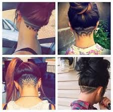 Image result for undershave hairstyles girls