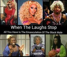 It's Just Entertainment--> 'Coon'ology. A-Black men in drag as entertainment is buffoonish as fuck. So tired of it.