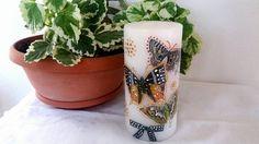 Η Εμπνευση της στιγμης ηταν οι Πεταλουδες που ζουμαρουν το αρωμα του κεριου!!