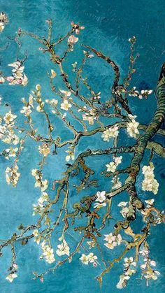 New Wall Paper Computer World Map Ideas Van Gogh Wallpaper, Painting Wallpaper, Wallpaper Backgrounds, Monet Wallpaper, Wallpaper Lockscreen, Painting Art, Van Gogh Arte, Van Gogh Pinturas, Van Gogh Almond Blossom
